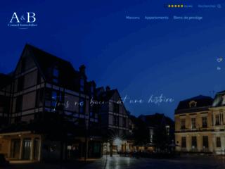 Détails : Agence immobilière A et B Conseil