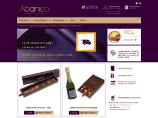 Détails : Livraison chocolats : offrir des chocolats avec Abanico