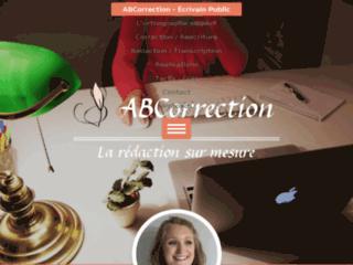 Détails : ABCorrection