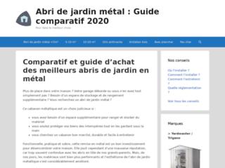 Abri de jardin métal