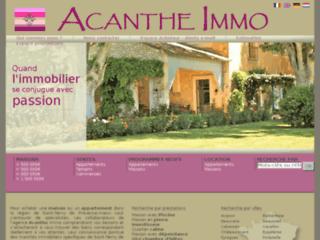Détails : Acanthe Immo Saint-Rémy