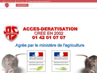 Acces Deratisation - Séçialiste depuis 2002 en deratisation - Paris & IDF