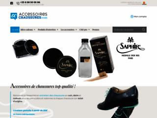 Détails : Les produits et accessoires d'entretien de chaussures