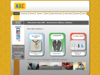 Détails : ABC-Accessoires-Bijoux-Cadeaux
