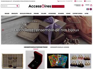 Grossiste bijoux fantaisie : accessoiresengros.com