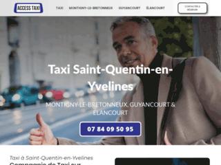 Services personnalisés de taxis à Saint-Quentin-en-Yvelines