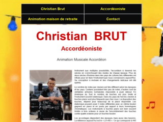 Accordéoniste Christian BRUT