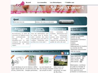 Détails : Annuaire AccrochCoeur, Guide des prestataires pour faire la fête
