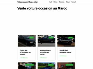 Détails : annonces automobile maroc