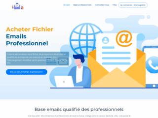 Obtenez un fichier email d'entreprises françaises