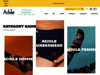 Achile, le spécialiste de la chaussette originale