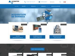 Acquitek, fournisseur de solutions d'acquisition de données