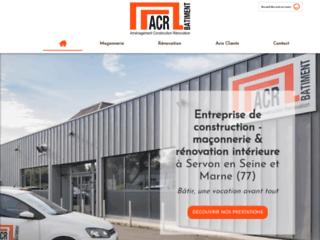 Entreprise AMENAGEMENT-CONSTRUCTION-RENOVATION à Servon spécialiste de la maçonnerie
