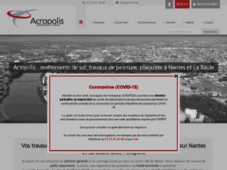 Acropolis : carrelage, maçonnerie et plâtrerie à Nantes et La Baule