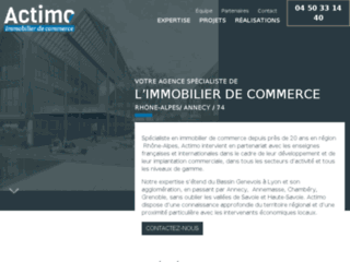 Actimo - Immobilier de commerce Annecy