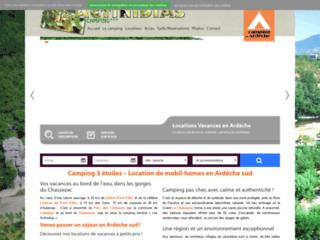 Détails : Camping Les Actinidias - Vos vacances en bord de rivière