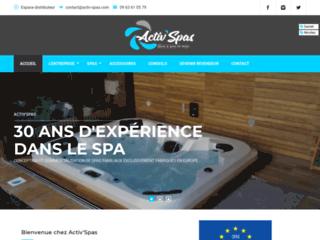 Boutique de distribution des spas