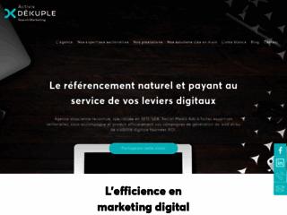 Détails : Activis, agence de référencement naturel multilingue