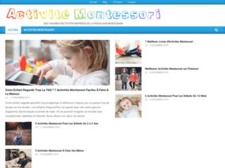 Savoir tout sur les activités Montessori