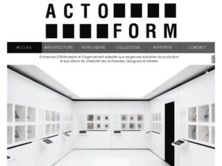 Actoform SA: ébénisterie et décoration