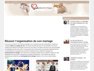 Détails : Actualité sur le mariage et organisation de soirée