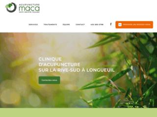 Traitement par l'acupuncture à la clinique Acupuncture Maca