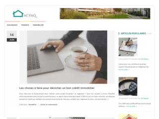 Détails : Blog d'actualité financière, immobilière et assurance