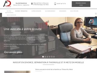 Avocat en droit de la famille et en divorce sur Thionville