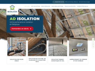 AD Isolation, travaux d'isolation
