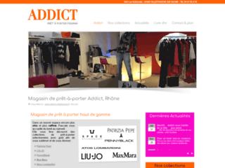 Addict, magasin de prêt-à-porter à Villefranche-sur-Saône