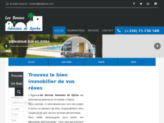 Détails : Vente appartements à Djerba en Tunisie