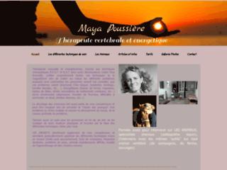 Maya Poussière, thérapeute physio-ostéopathe pour chevaux