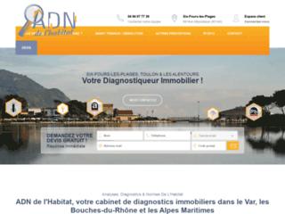 ADN Habitat, entreprise varoise spécialisée dans le diagnostic immobilier