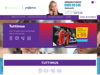 Partenaire officiel de Proximus (ex Belgacom) | ADSL-Telecoms