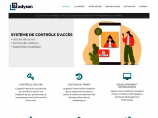 Détails : Société maintenance informatique Maroc - Adyson