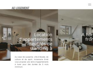 Détails : Location d'appartementt meublé à Lausanne