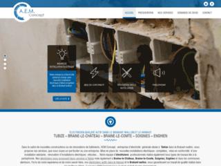AEM Concept, les professionnels de l'électricité à Tubize
