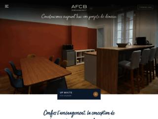 AFCB, aménagement sur mesure de bureau