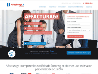 Affacturage : le comparateur des diverses solutions d'affacturage du marché