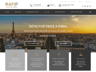 AFIP: detective prive à Paris