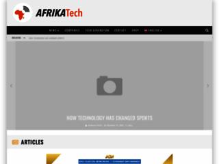 Site d'actualité accès sur la technologie en Afrique
