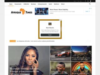 Détails : Afrique Times: magazine d'actualités sur l'Afrique