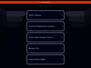 Détails : Nutrithérapie avec After Plastie