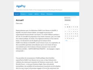 AgaPsy : site informatif pour connaître l'association Santé Mentale France