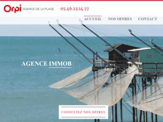 Détails : Orpi, Agence immobilière de la plage à Royan
