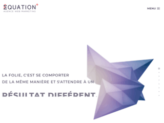 Equation agence web