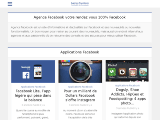 Détails : application facebook