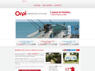 Détails : ORPI, Agence immobilière de la plage