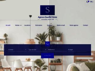 Détails : Agence immobilière Souillé Frères