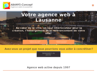 Détails : Agence web polyvalente à Lausanne